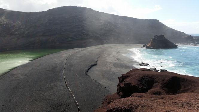 Szmaragdowe jeziorko - Lanzarote