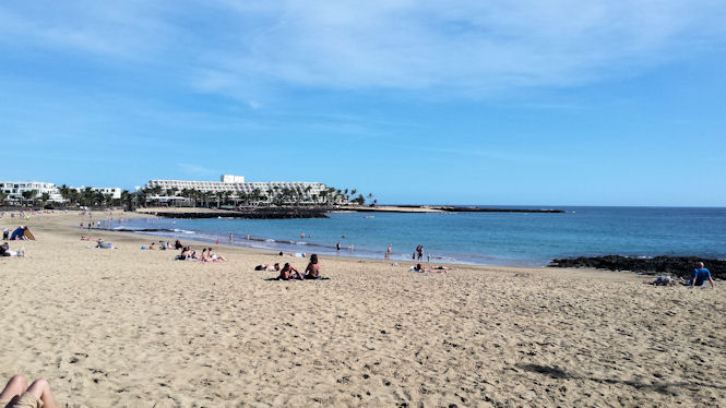 Playa Cucharas Costa Teguise
