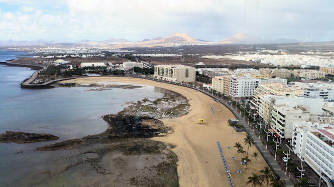 Widok na krajobraz wyspy - plan zwiedzania