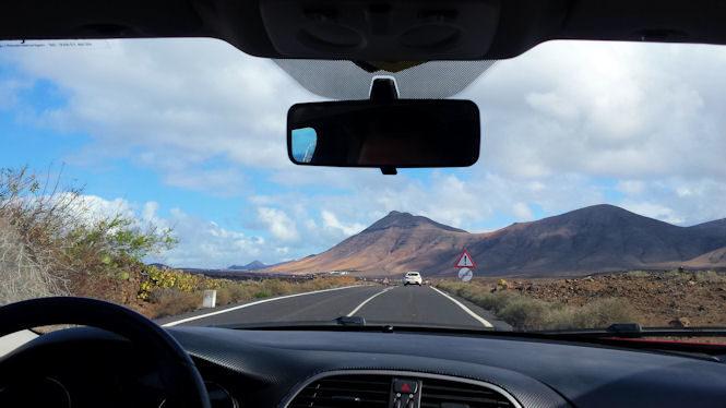 Zwiedzanie Lanzarote samochodem