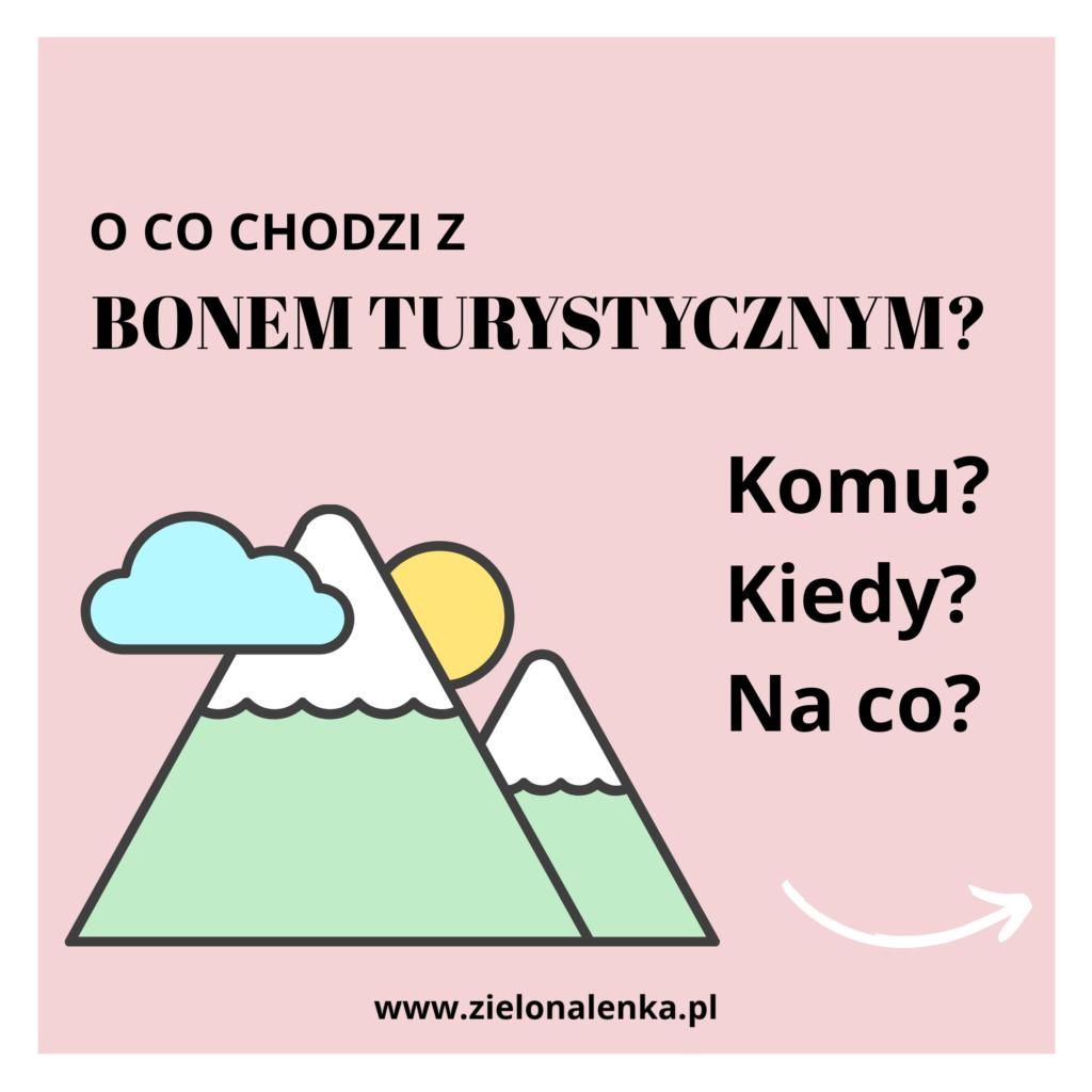 bon turystyczny - grafika